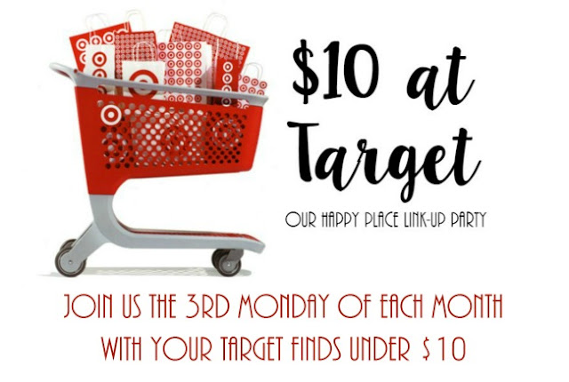 $10 at Target: Pretty Paper Edition  |  Join us for our monthly link up party on the third Monday of each month and see what we got for $10 at Target!