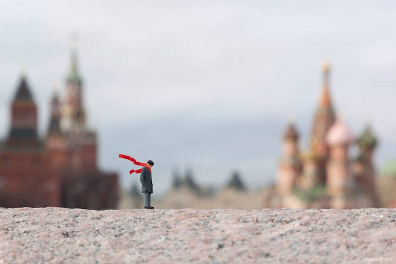 The Little People Project by Slinkachu
