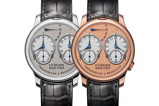 F.P.Journe Chronometre A Resonance with Analog 24 Hour Display