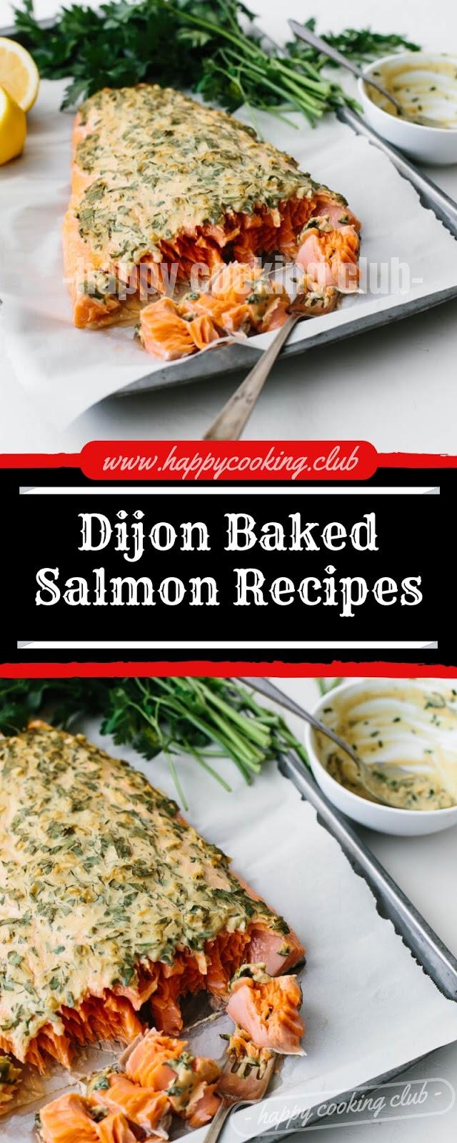 Dijon Baked Salmon Recipes