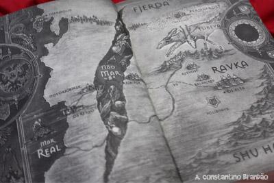 mapa do livro sombra e ossos