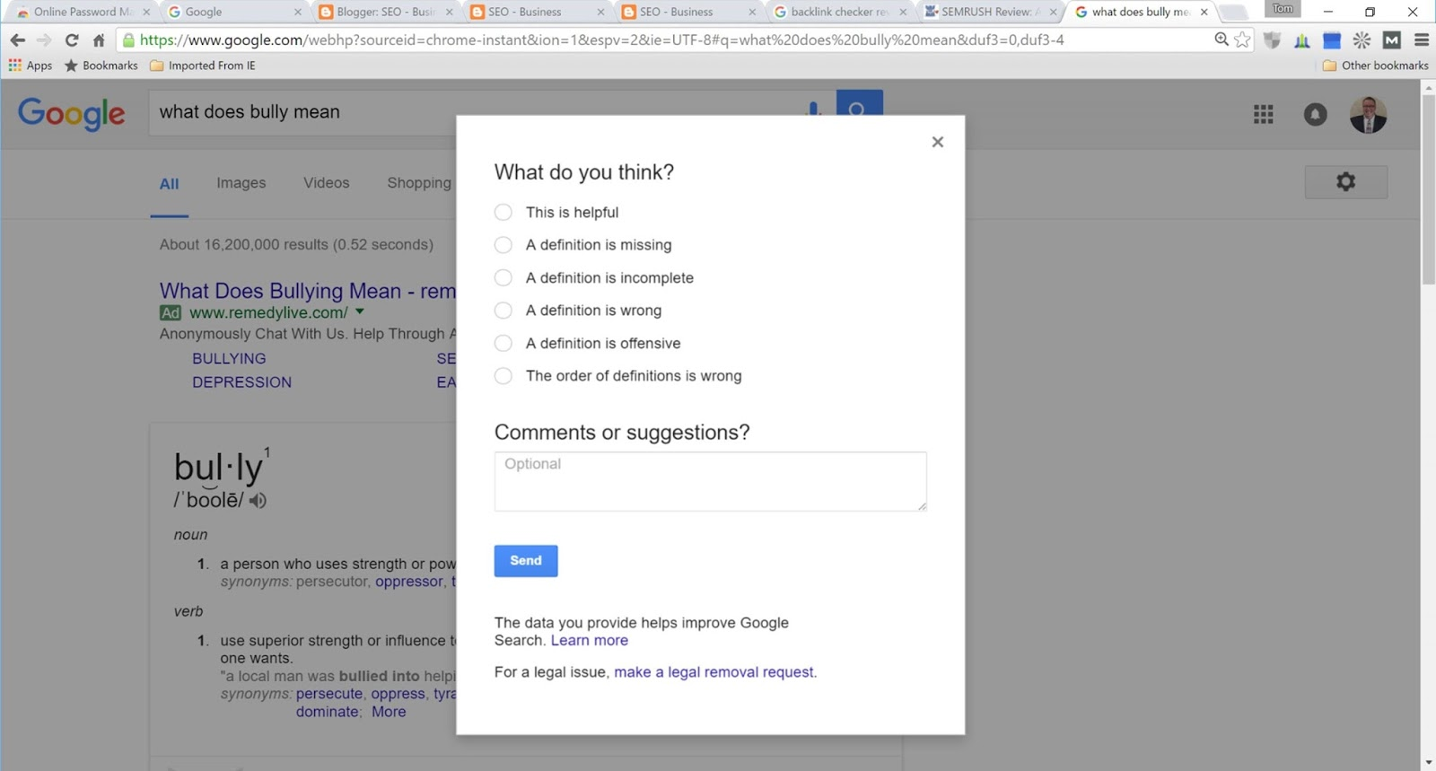New Google Search Features and Good Work by Google with