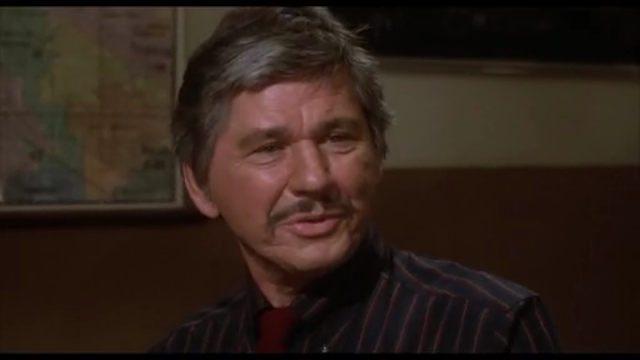 Charles Bronson as Leo Kessler in 10 TO MIDNIGHT (1983)