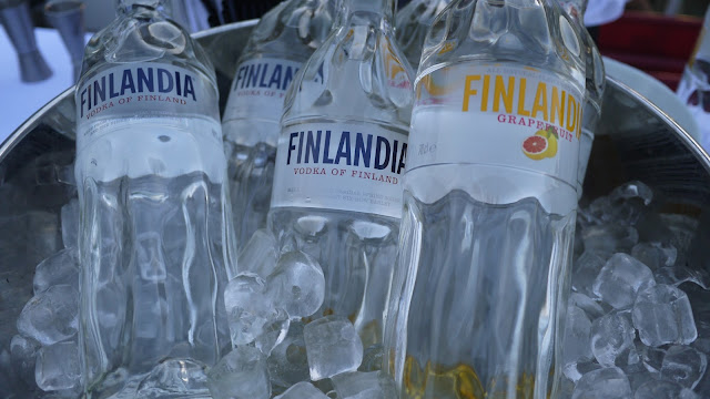 Finlandia vodka at the Visit Finland White Nights event