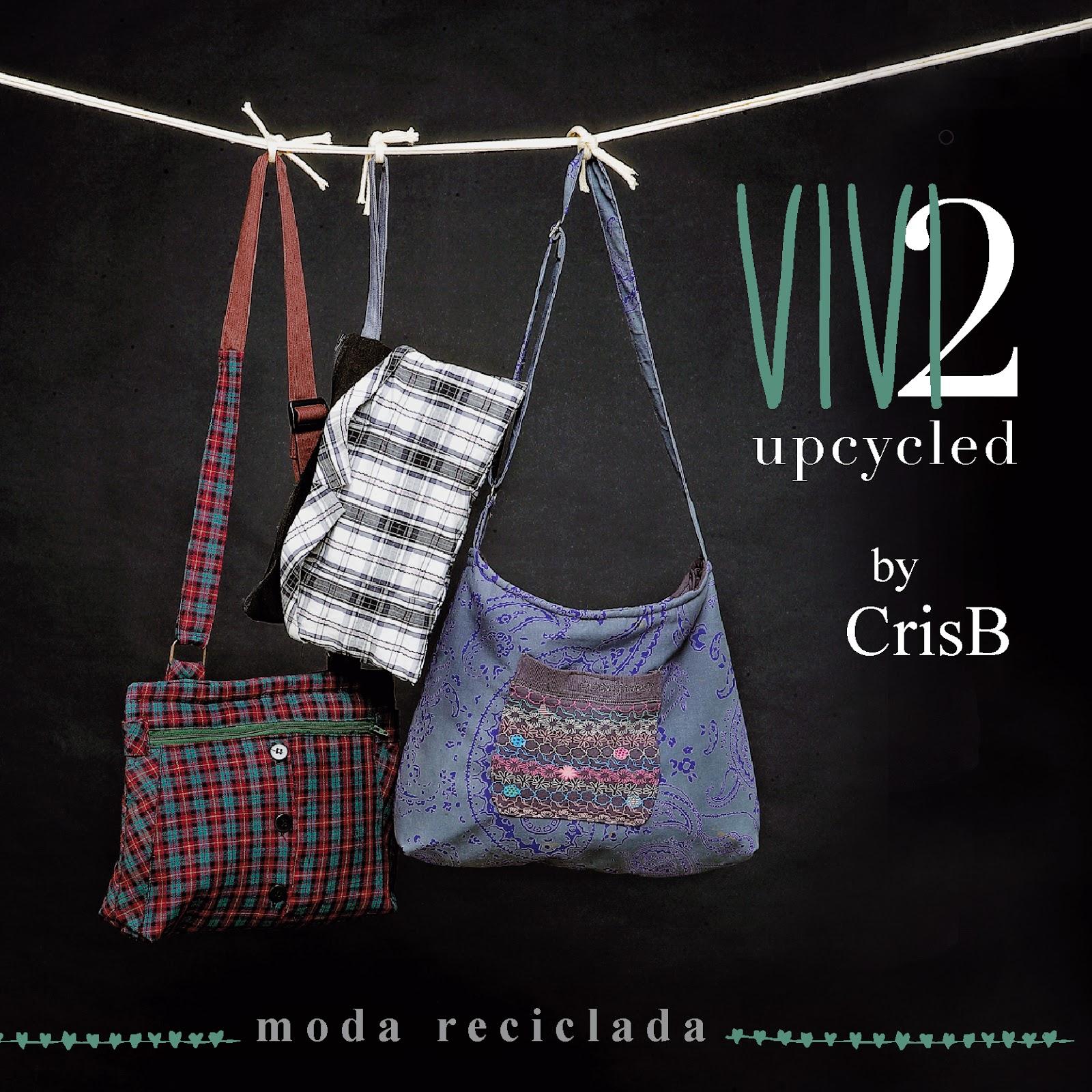 upcycling, moda reciclada, moda sostenible, sostenibilidad, bolsos reciclados