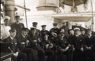 crew on SS Kroonland Red Star Line
