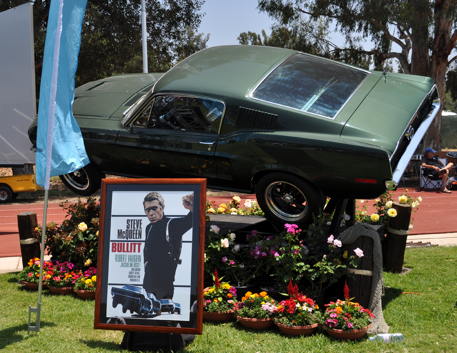 Just A Car Guy The Charger And Mustang From The Movie Bullitt And - Chino hills car show