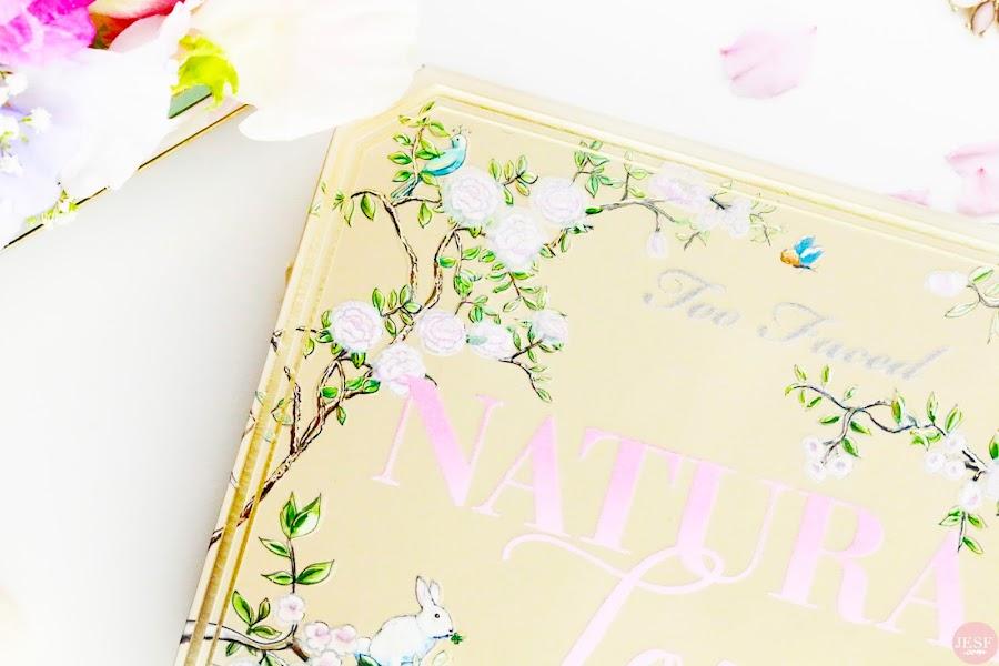 avis revue nouvelle palette Natural Love de Too Faced