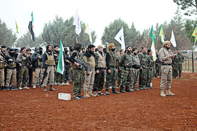 Ceyş El Suwar Rojava Suriye YPG Şahba