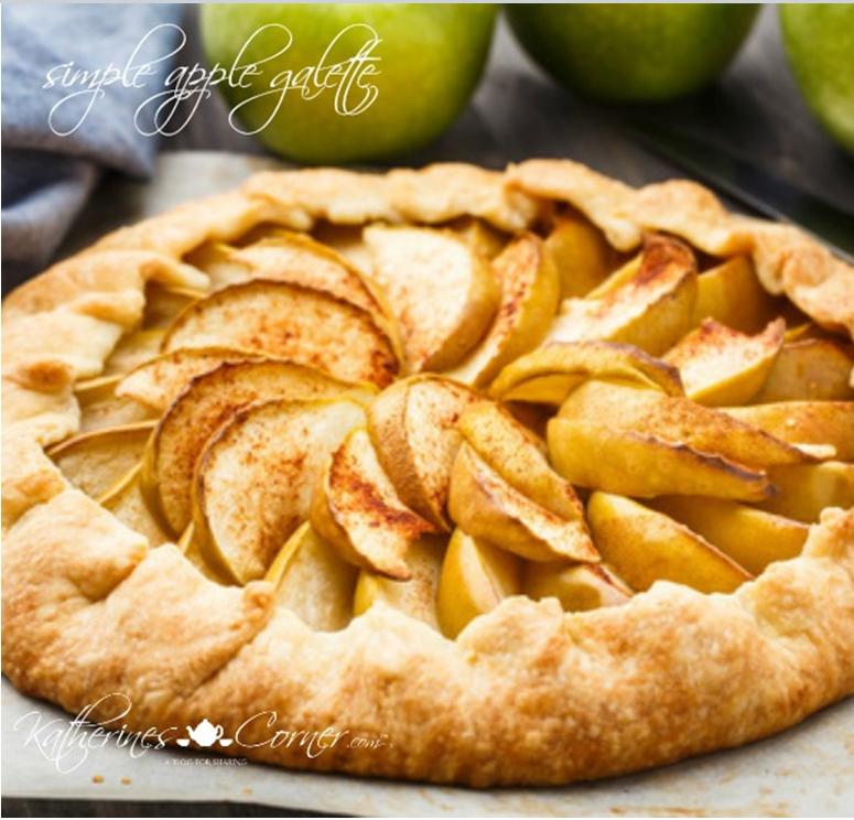 Apple Galette Recipe from Katherine's Corner