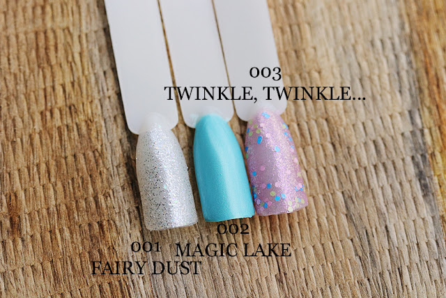 Bell 001 Fairy Dust, Bell 002 Magic Lake i Bell 003 Twinkle, Twinkle