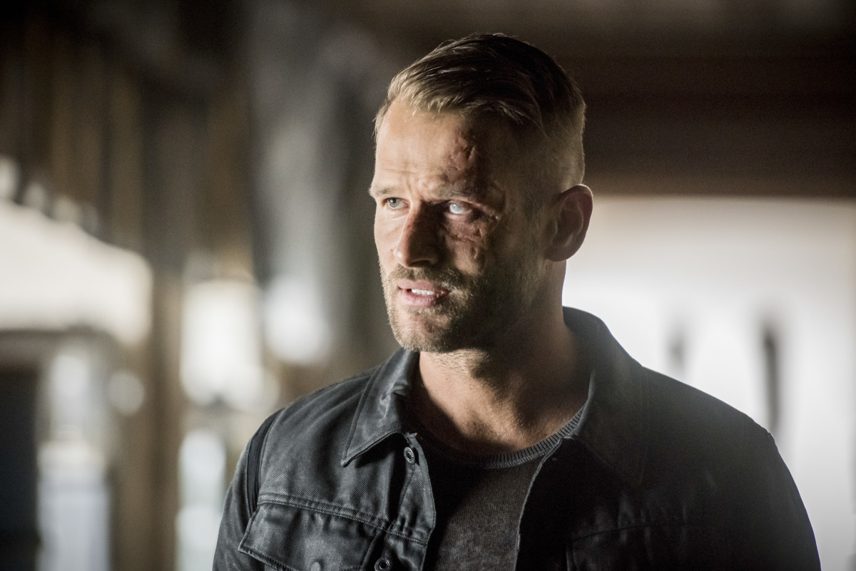 Johann Urb en Arrow de The CW