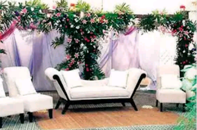 model dekorasi pernikahan modern bernuansa putih