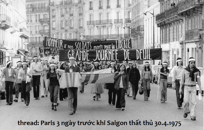 Image result for Vietnamese 30-4-75 -- Paris