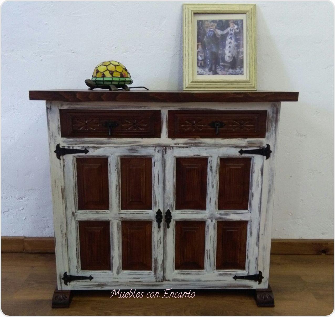 Castellano estilo vintage muebles con encanto for Mueble entrada vintage