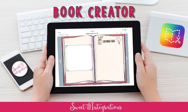 ipad image used to describe book creator for digital book reviews
