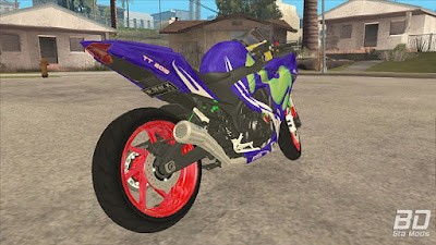 Download mod moto bike YZF-R25 2017 for GTA San Andreas