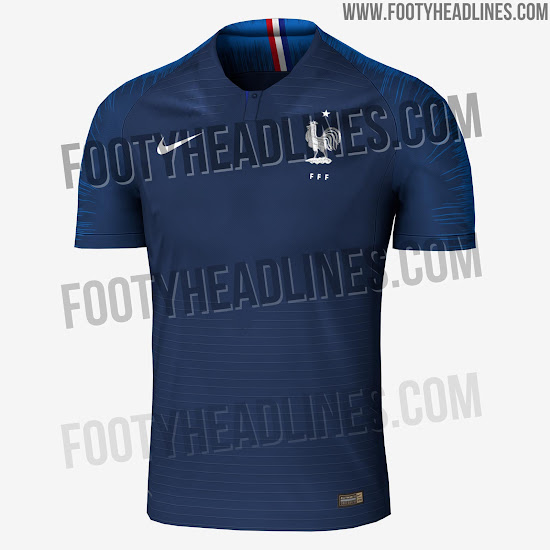 new product 92302 4a74e Most Unique Nike World Cup Kits So Far - Nike France 2018 ...