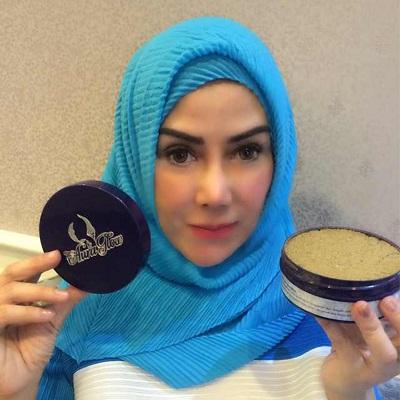 Lulur Aura Glow with artis Ami R Qanita Raffi Ahmad