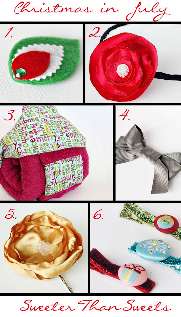 Christmas in July items from SweeterThanSweets on Etsy