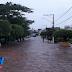 Inúbia/BA:  Choveu durante toda madrugada desta segunda-feira (18)