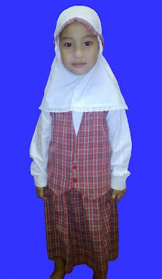 baju seragam tk muslim