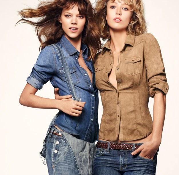 FASHION, GirlsCollection, trendy, Women's collection, denimlook, denim blouse, red,red shirt,denim shirt,blue denim,brown denim shirt,trendzalert