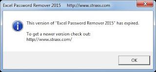 Cara Agar Excel Password Remover Bisa Kembali Berfungsi