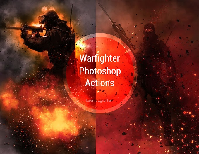 Warfighter Photoshop Actions