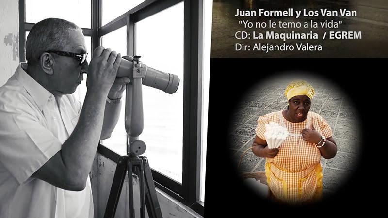 Formell y Los Van Van - ¨Yo no le temo a la vida¨ - Videoclip y Making-of - Dirección: Alejandro Valera. Portal Del Vídeo Clip Cubano - 01