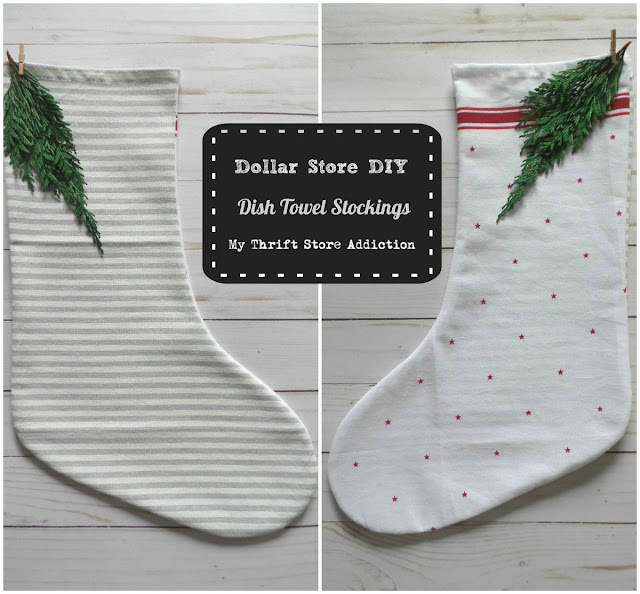 DIY Farmhouse stockings