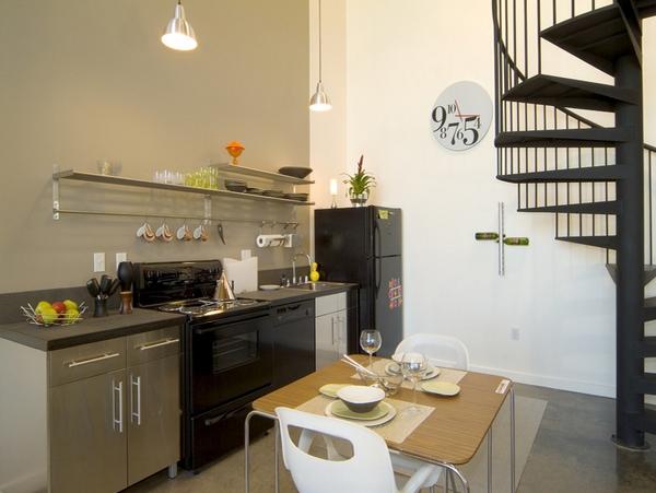 Desain Meja Sederhana untuk Dapur Kecil
