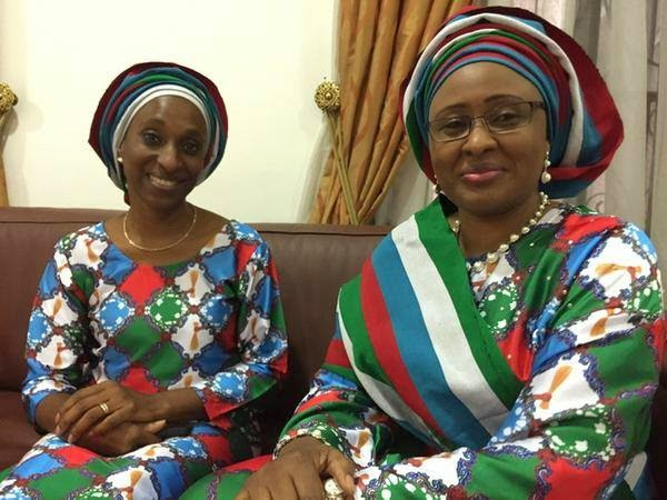 buhari wife obasanjo house