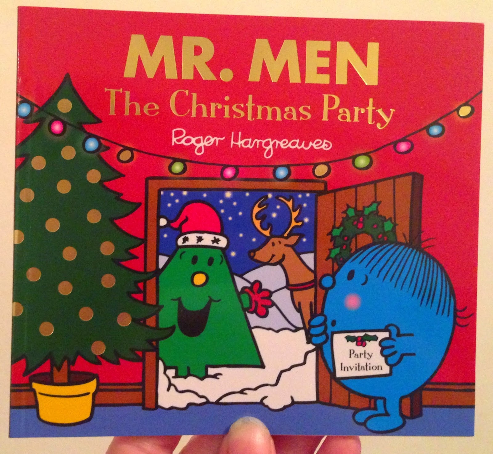 Our Christmas Book Advent tree | Ideas for the Best Children's Books to Buy this Christmas - Mr Men The Christmas Party