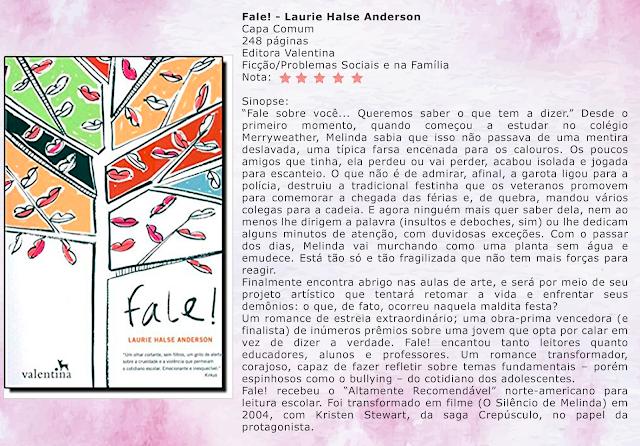Fale! - Laurie Halse Anderson