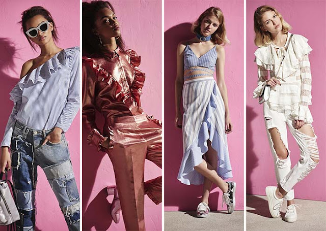 River Island Spring 2017 Lookbook