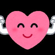 元気な心臓のキャラクター