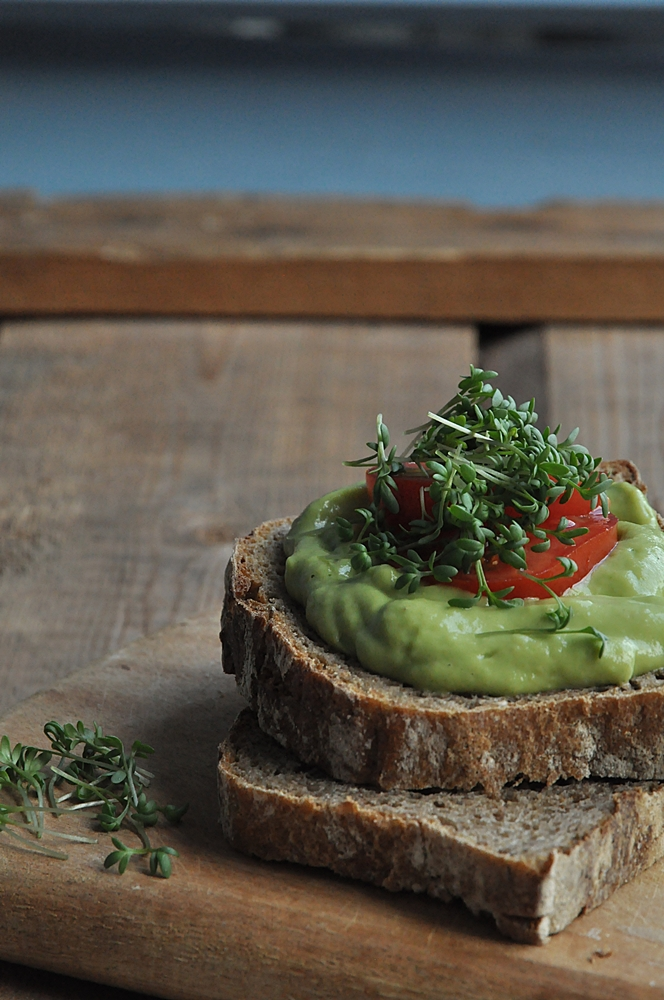 veganer Avocado aufstrich