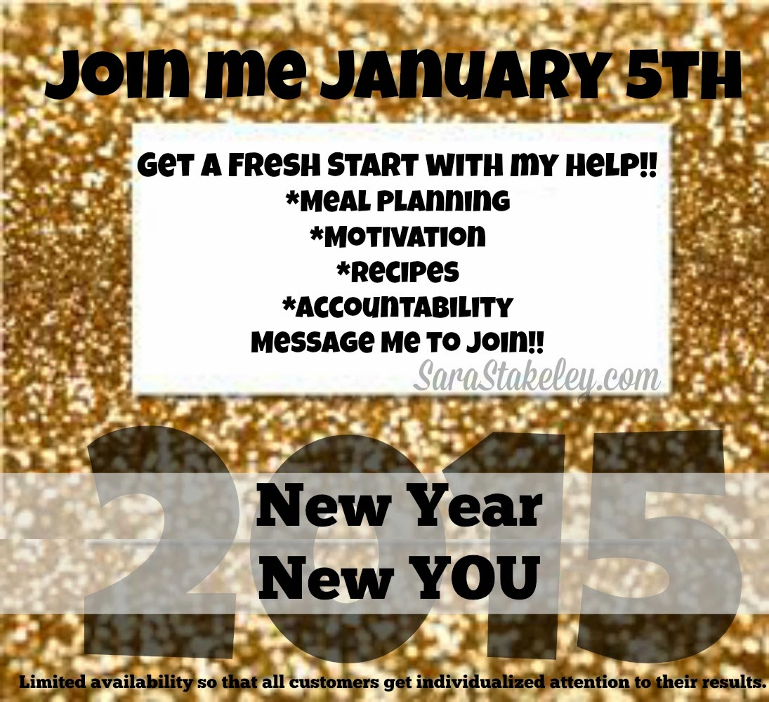 Sara Stakeley New Year New You Challenge