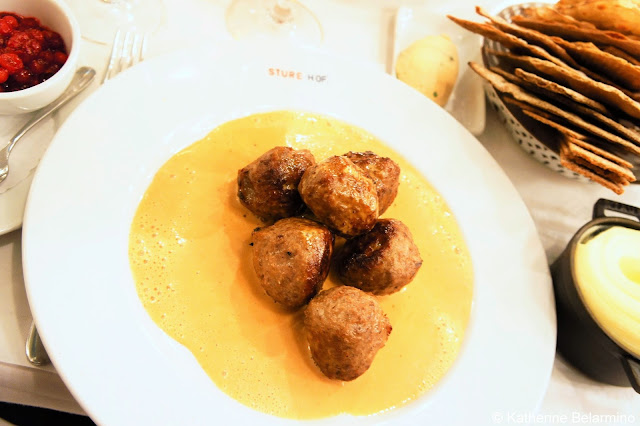 Swedish Meatballs Sturehof Best Restaurants in Stockholm Sweden