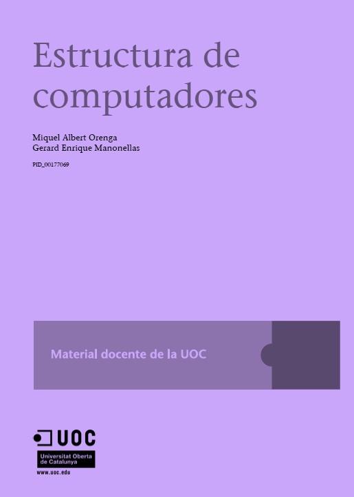 Estructura de Computadores – UOC