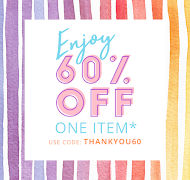 "Shop Blitsy : use code ""THANKYOU60"""