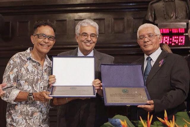 Alepe faz Reunião Solene para homenagear Maestro Duda e J. Michilles