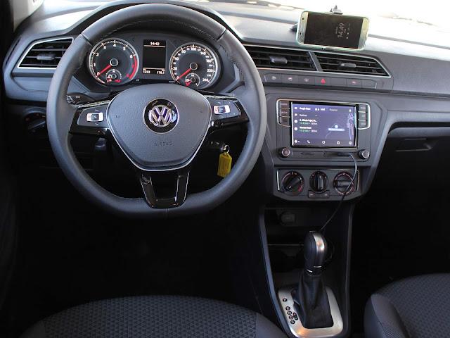 Novo VW Gol 2019 Automático - painel