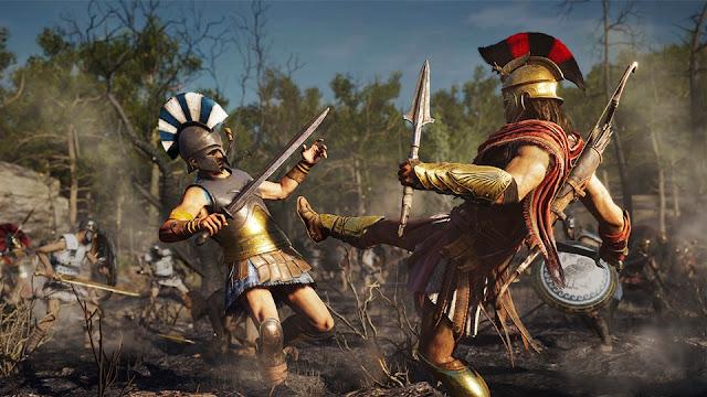 منظمة التقييم العمري للألعاب ESRB تصنف لعبة Assassin's Creed: Odyssey و تكشف عن معلومات جد مهمة حول المحتوى ..