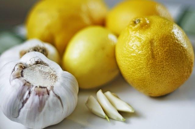 limones en la cocina de la abuela