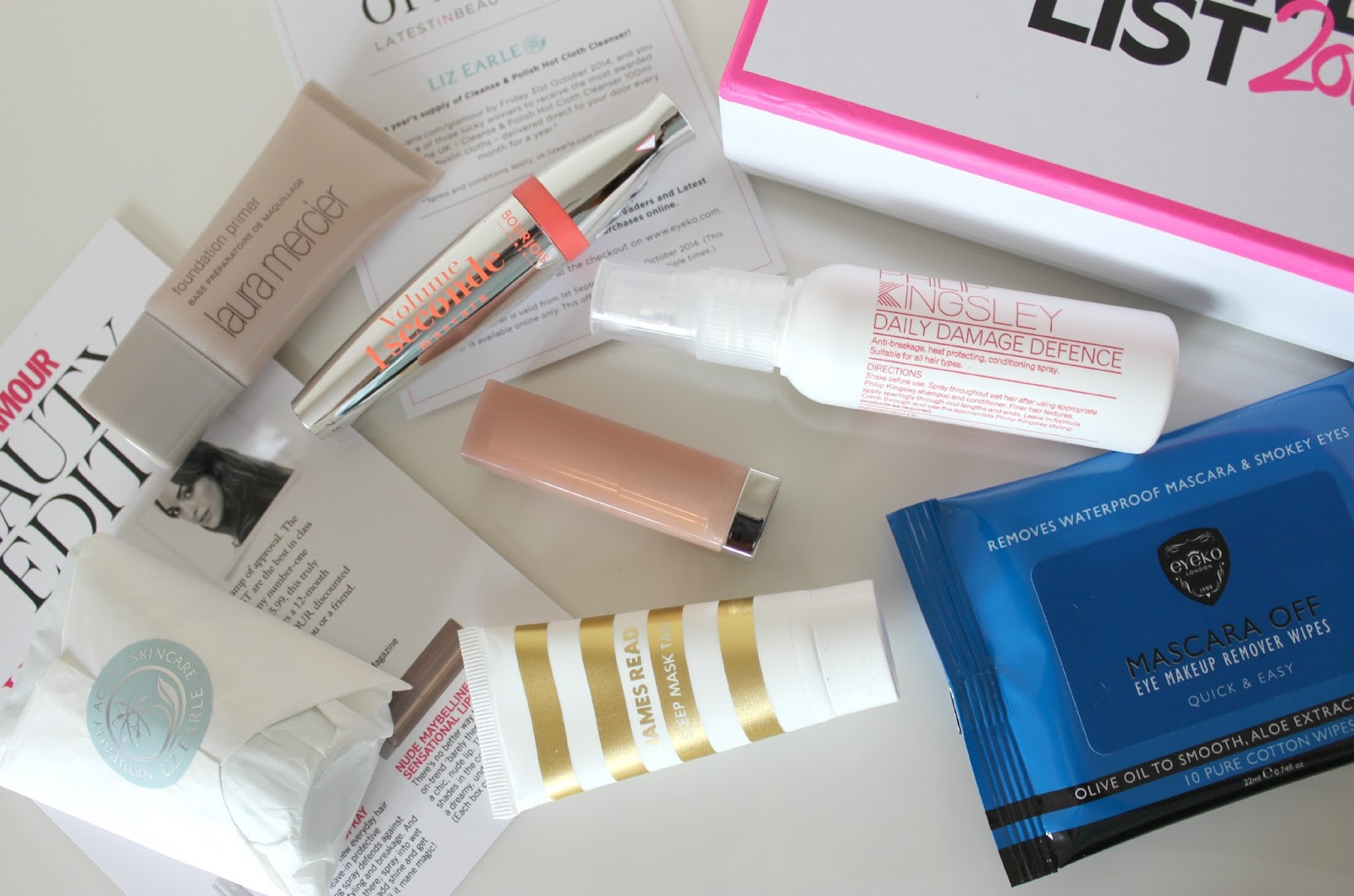 A picture of The Glamour Beauty Power List 2014 Beauty Box