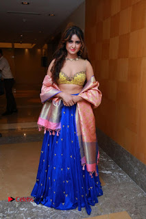 Actress Model Sony Charista Latest Pictures in Lehenga Choli  0087.JPG
