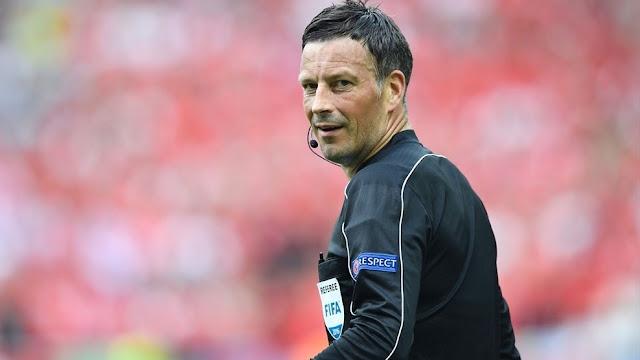 Mark Clattenburg  será o árbitro da final da Euro