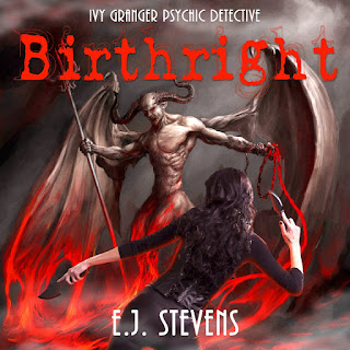 Birthright (Ivy Granger, Psychic Detective #4) by E.J. Stevens, narrated by Melanie Mason and Anthony Bowling.